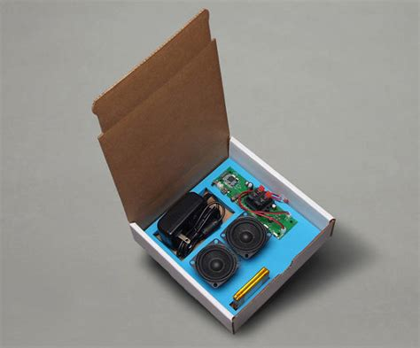 make your own bluetooth speaker with this diy kit