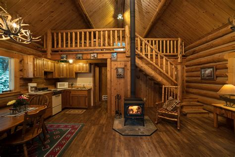 Interior Pictures Of Log Homes by Cabin Rental Western Pleasure Guest Ranch