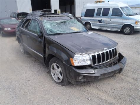 totaled jeep grand cherokee used parts 2006 jeep grand cherokee 4x4 4 7l v8 5 45rfe