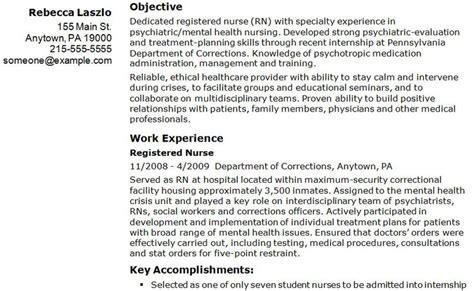 career goals and objectives for nursing sle registered resume exle my career goals