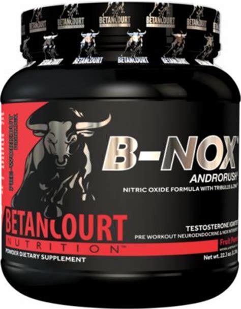 b nox creatine b nox androrush by betancourt nutrition at bodybuilding