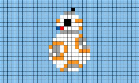 star wars pixel art templates pictures to pin on pinterest