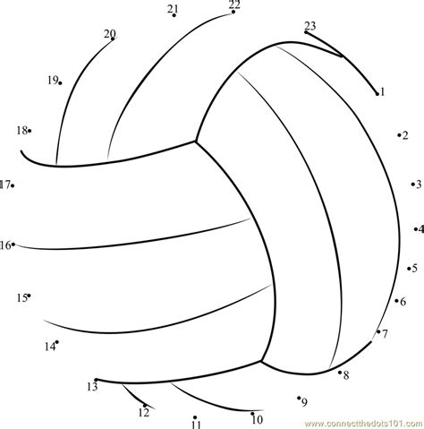 printable volleyball worksheets volleyball dot to dot printable worksheet connect the dots