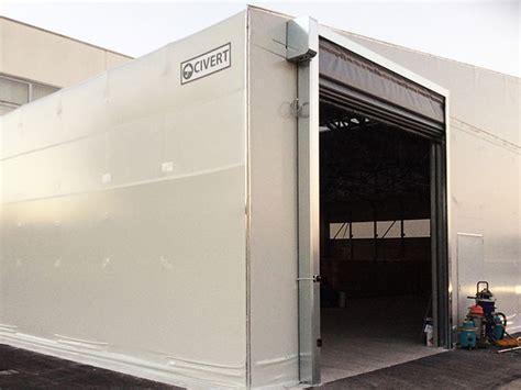 porte per capannoni capannoni pvc biside coperture pvc industriali civert