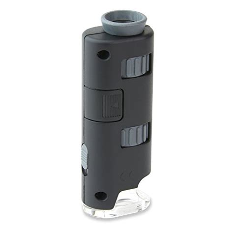 Microscope Poertable portable led lighted pocket microscope for on the go science 691166054398 ebay
