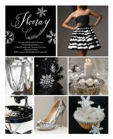 Black And White Themed Party Decorations - black and silver party decorations party favors ideas