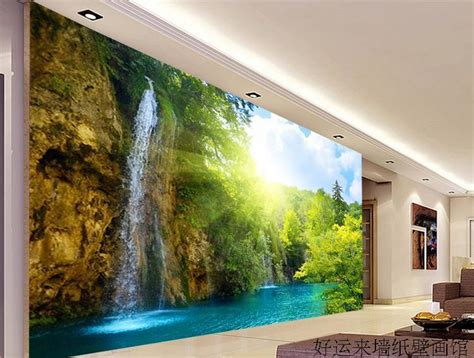 wall scenery murals large tv wall mural beautiful scenery wallpaper 3d landscape living room wallpaper mural