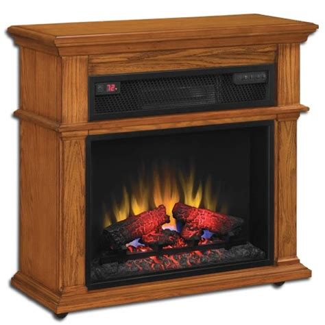 Chimney Free Tower Heater - duraflame powerheat infrared electric fireplace heater