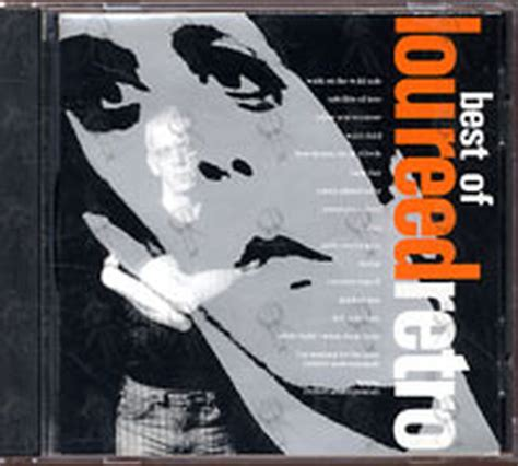 lou reed best album reed lou retro the best of lou reed album cd