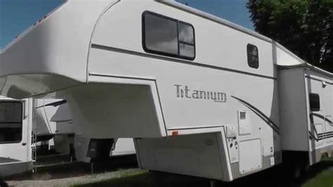 2002 glendale titanium 29e34rl fifth wheel rv youtube