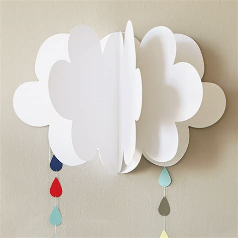 fluffy clouds diy baby shower decorations hallmark ideas