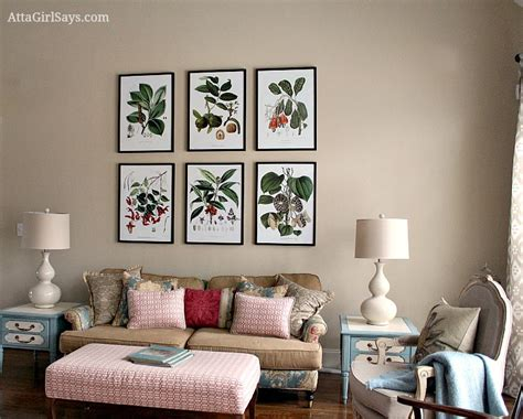 living room prints where to find inexpensive antique botanical prints