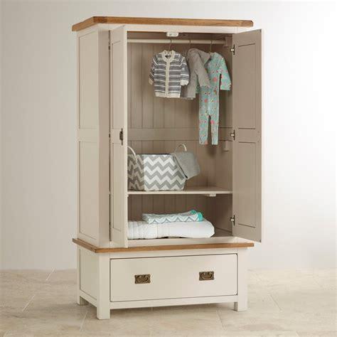 Nursery Wardrobe kemble nursery wardrobe in rustic solid oak oak furniture land
