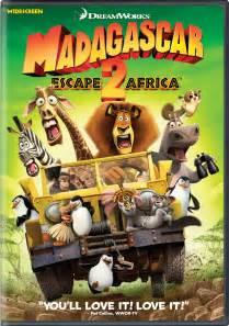 madagascar escape 2 africa dvd release february 6 2009