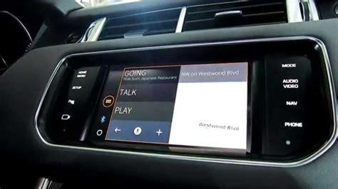 ihs auto demonstration jaguar land rover justdrive app at