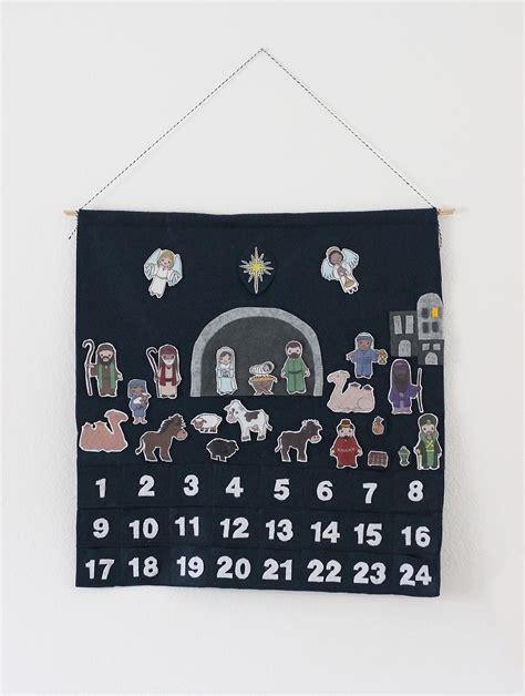 make nativity advent calendar nativity advent calendar sue makes