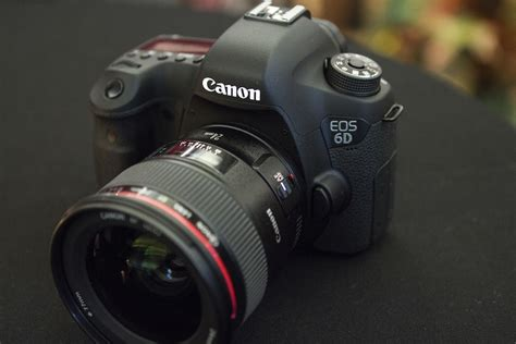 canon frame on with the canon 6d an affordable frame with