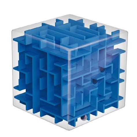 Balance Cube magic cube maze labyrinth rolling balance brain teaser alex nld