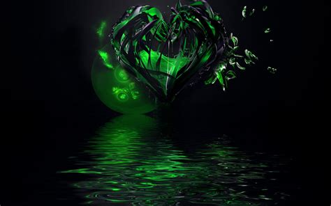 green wallpaper with hearts green heart wallpaper by ageorgea on deviantart