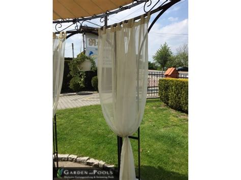 stoff vorh 228 nge seitenteile f 252 r pavillons garden and pools - Pavillon Stoff
