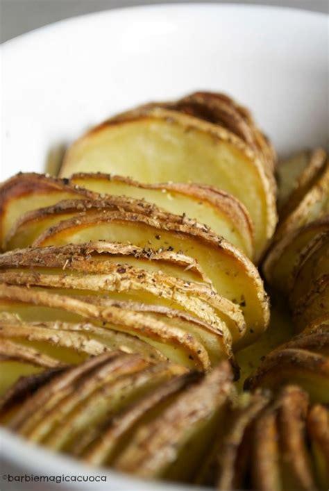 cucinare le patate con la buccia patate al forno croccanti con la buccia patate