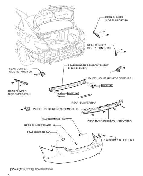 online service manuals 2000 toyota camry regenerative braking 2004 toyota camry rear bumper parts diagram imageresizertool com