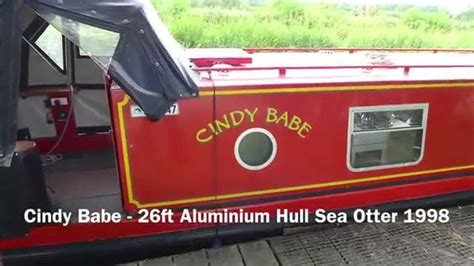 rugby boat sales gallery sold cindy babe 26ft aluminium hull sea otter 1998 youtube