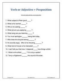 printable adjective exercises