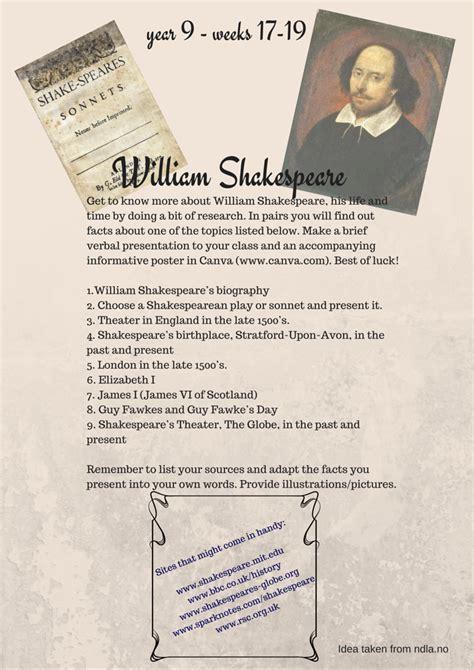 biography essay on william shakespeare william shakespeare biography research paper