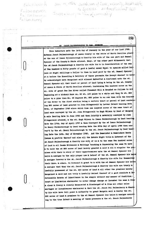 genealogical sketch of the descendants of samuel spencer of pennsylvania classic reprint books 1782 1 14 jacob falkenborough to samuel spencer