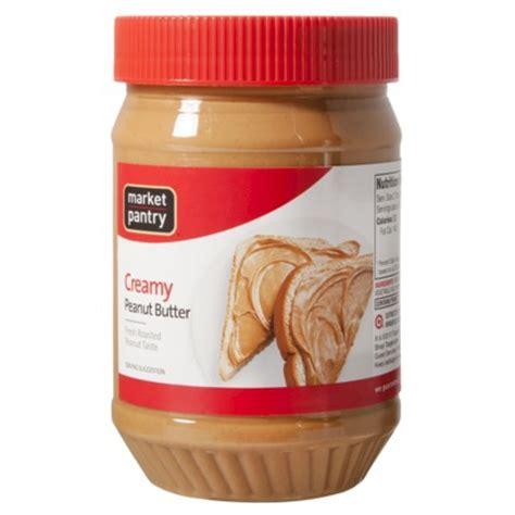 market pantry peanut butter 40oz jar as low as 3 32