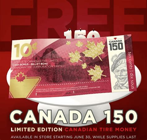 canadian tire releases limited edition canada   cent bill daily hive vancouver