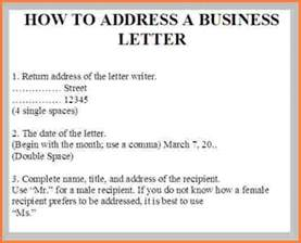5 addressing a business letter registration statement 2017