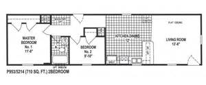 Modular Home Floor Plans Illinois Two Bedroom One Bath Mobile Home For Sale Chief Mobile
