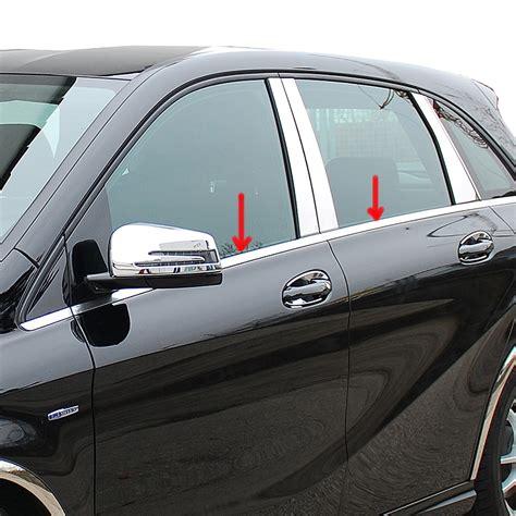 Auto Chromleisten Polieren by Sch 228 Tz Fensterleisten Edelstahl Hochglanz Poliert F 252 R