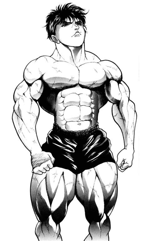 hero fitness baki  grappler mass workout