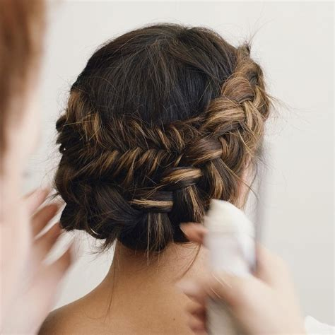 Wedding Hair Up Braid by 61 Braided Wedding Hairstyles Brides