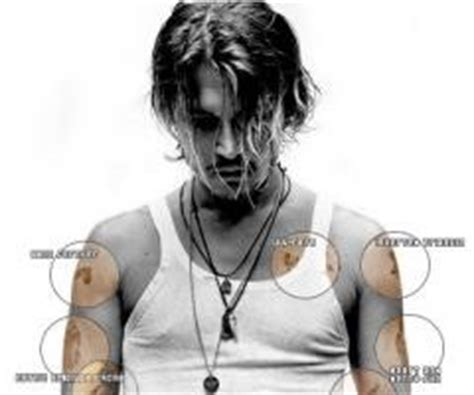 johnny depp finger tattoo meaning johnny depp quotes about tattoos quotesgram
