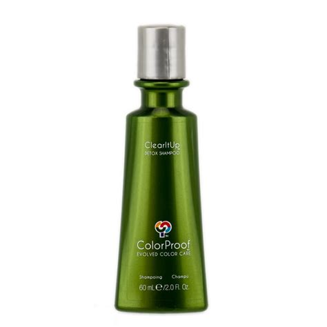 All Clear Hair Detox Reviews by Colorproof Clear It Up Detox Shoo 2 0 Oz
