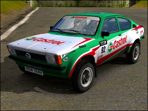opel kadett rally car trackmania carpark 3d models opel kadett rally