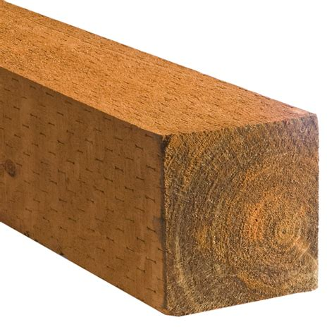 shop severe weather treated landscape timber common 6 in
