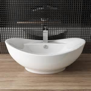 waschbecken tisch design keramik aufsatz waschbecken tisch