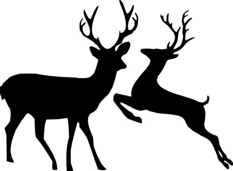Reindeer Silhouettes Google Search 3d Reindeer Templates Pinterest Reindeer Search And Reindeer Silhouette Template