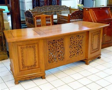 asian desk desks in teak rustic teak rosewood inlaid with