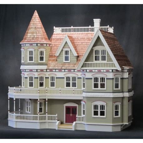 miniature doll house kits queen anne dollhouse kit dollhouses dollhouse kits superior dollhouse miniatures