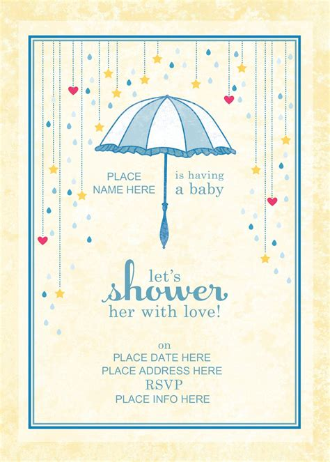 Baby Shower Invite Template Baby Shower Invitation Templates Free Invitations Design Invitation Templates Free 2