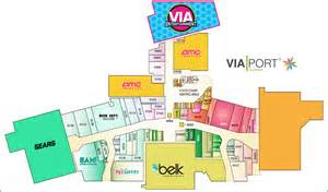 mall map via port florida