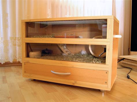 Handmade Cage - the gallery for gt hamster cages