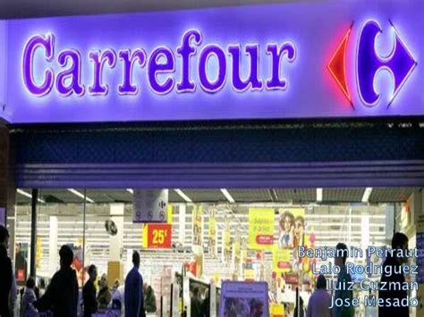 Ac Carrefour carrefour logistic management
