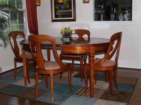 cherry dining room set lagrange imported for sale from